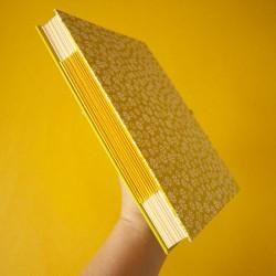 Cuaderno A5 con lomo de papel