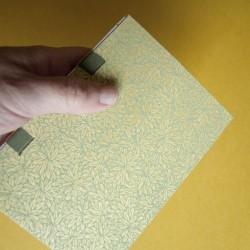 Cuaderno con cintas y...